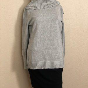 Nautica Women's Soft Knitted Turtleneck Sweater